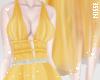n  Flowy Dress Yellow
