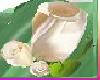 [TGUU]Rose Pin Wht Gold