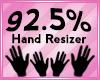 Hand Scaler 92.5%