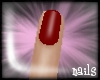 -Jez- Red short nails
