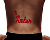 Amber Tat Lower Back