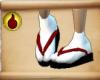 *Akatsuki Kimono Shoes*