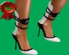 blk/wht highback heels