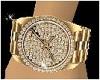 Gold n Diamonds Watch
