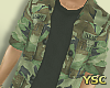 [SPACEY]Camo Jacket $