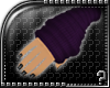 m.. Arm Warmers Purple