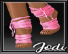 Pink Laced Feet