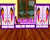 Dora Purple Dresser