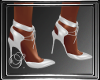 (SL) White Satin Shoes