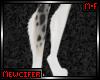 M! Snow Leopard Leg Fur