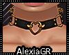 [A] Heart Choker Gold