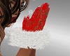 FG~ Red Lace & Fur Glove