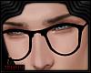 *J Male Black Glasses