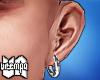 va. hoop earring L