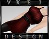V' +Vine Short Dress+