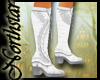 ~NS~ White warrior boots