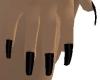QT~Mystic Black Nails