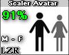 Scaler Avatar M - F 91%