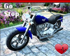 Mm Motorcycle Blue