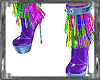 Wicked Fringed Plur Boot