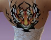 {HB} Flame tiger tattoo