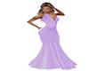 Lilac Ballgown