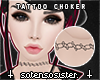 *S* Tattoo Choker v3