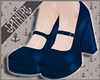 ⚓ | 50's Pumps Blue