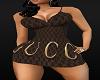 Brown Guccci Mini Dress