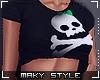 M:Cute skull top