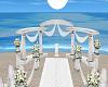 White Wedding Arch 1