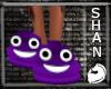 Purple Poo Shoe