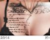"""K"""" Fear.. tattoo"""