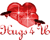 hugs whit harts