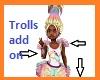 Kids Star Trolls Fit Fur