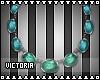 Misa Necklace [AquaTeal]
