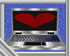 Broken Heart Laptop