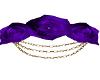 Purple Rose Head Piece