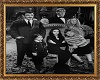 Addams family frame