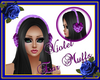Violet Ear Muffs