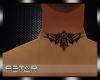 neck tattoo m2 |P