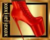 [L] Sexy ORANGE Boots F