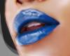 .PRETTY. Lipstick blue