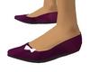 Purple Ballet Flats