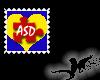 N- Autism-ASD stamp