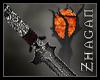 [Z] Ser Drake Staff  red