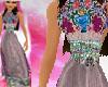 Mayan Princess Gown