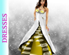 Wysteria Gold Bow Gown
