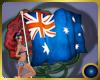 Australian Flag w poses