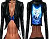 Black Wolf Vest